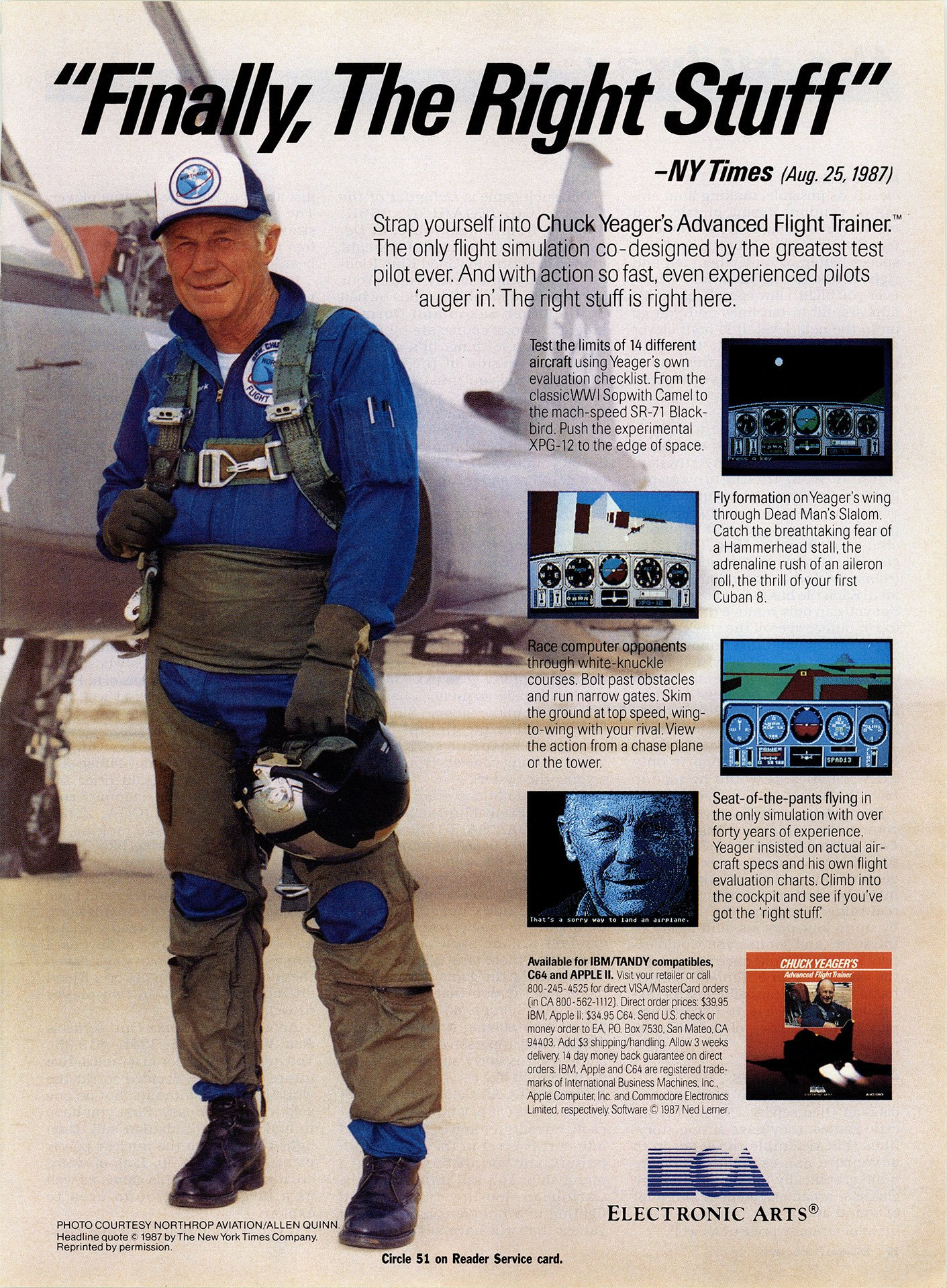 Chuck Yeager's Advanced Flight Trainer - PC - Retromags Community