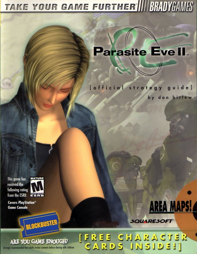 Parasite Eve II Official Strategy Guide