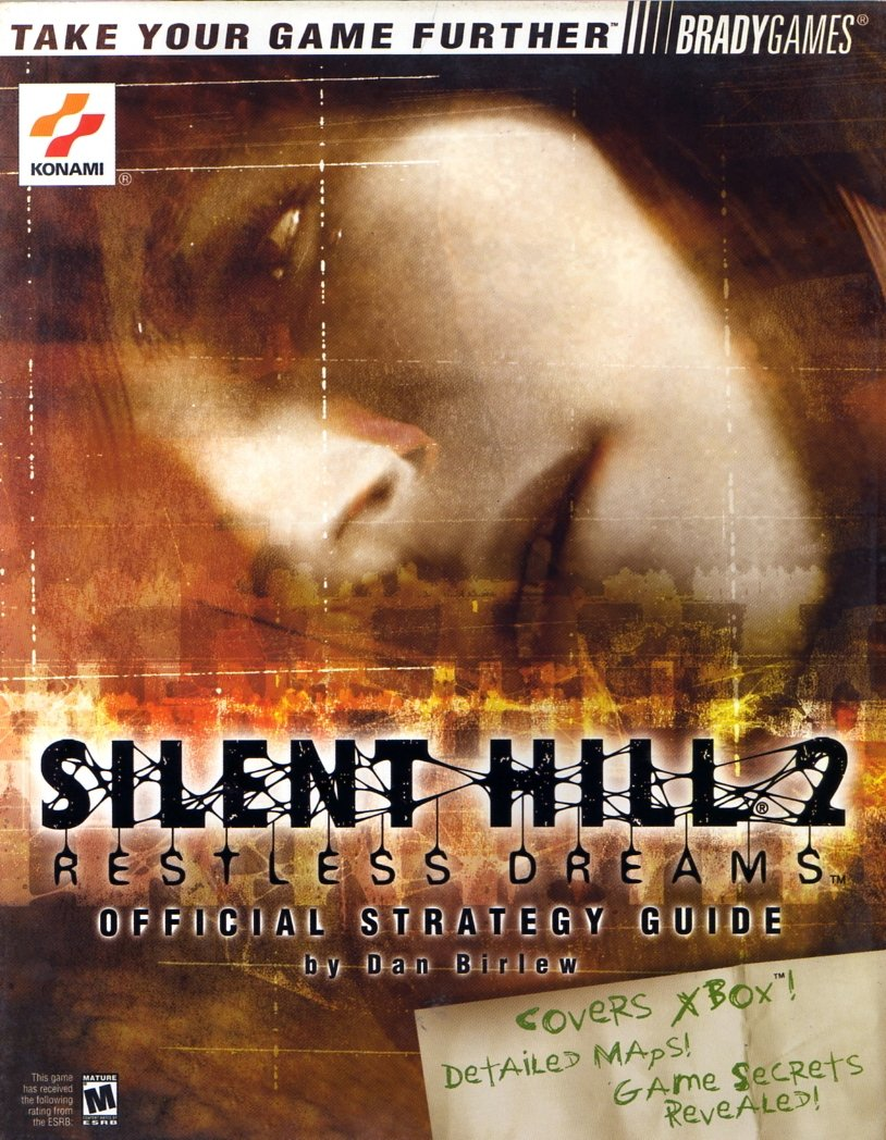 Silent Hill 2 Restless Dreams Official Strategy Guide