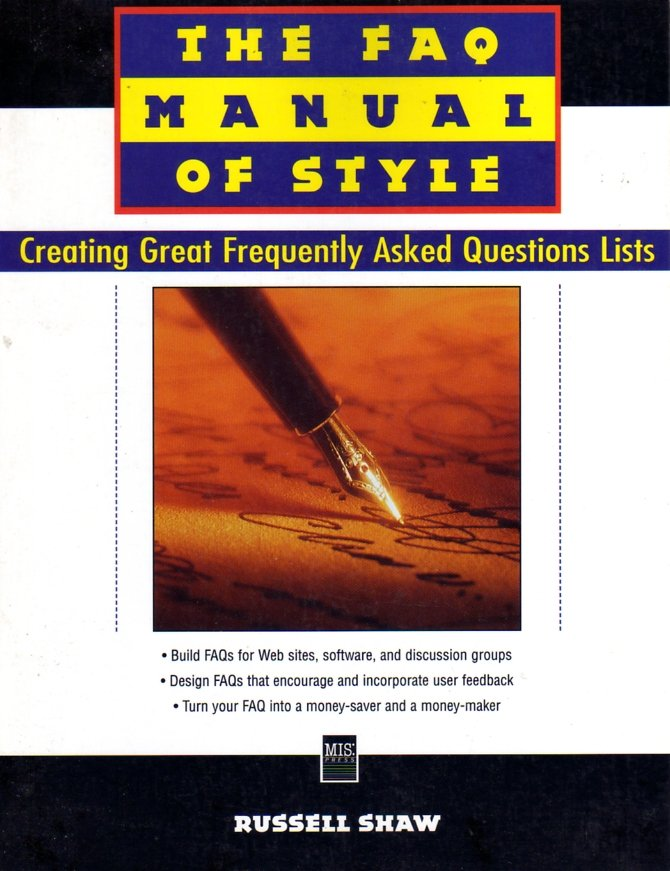 FAQ Manual of Style, The