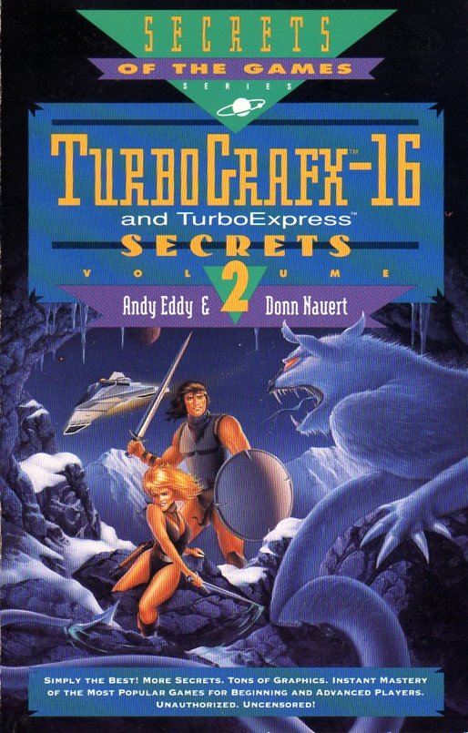TurboGrafx-16 and TurboExpress Secrets Volume 2