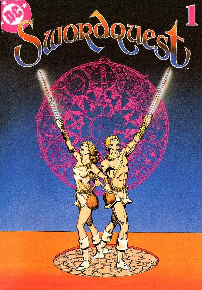 SwordQuest v1 01 Earthworld (1982)