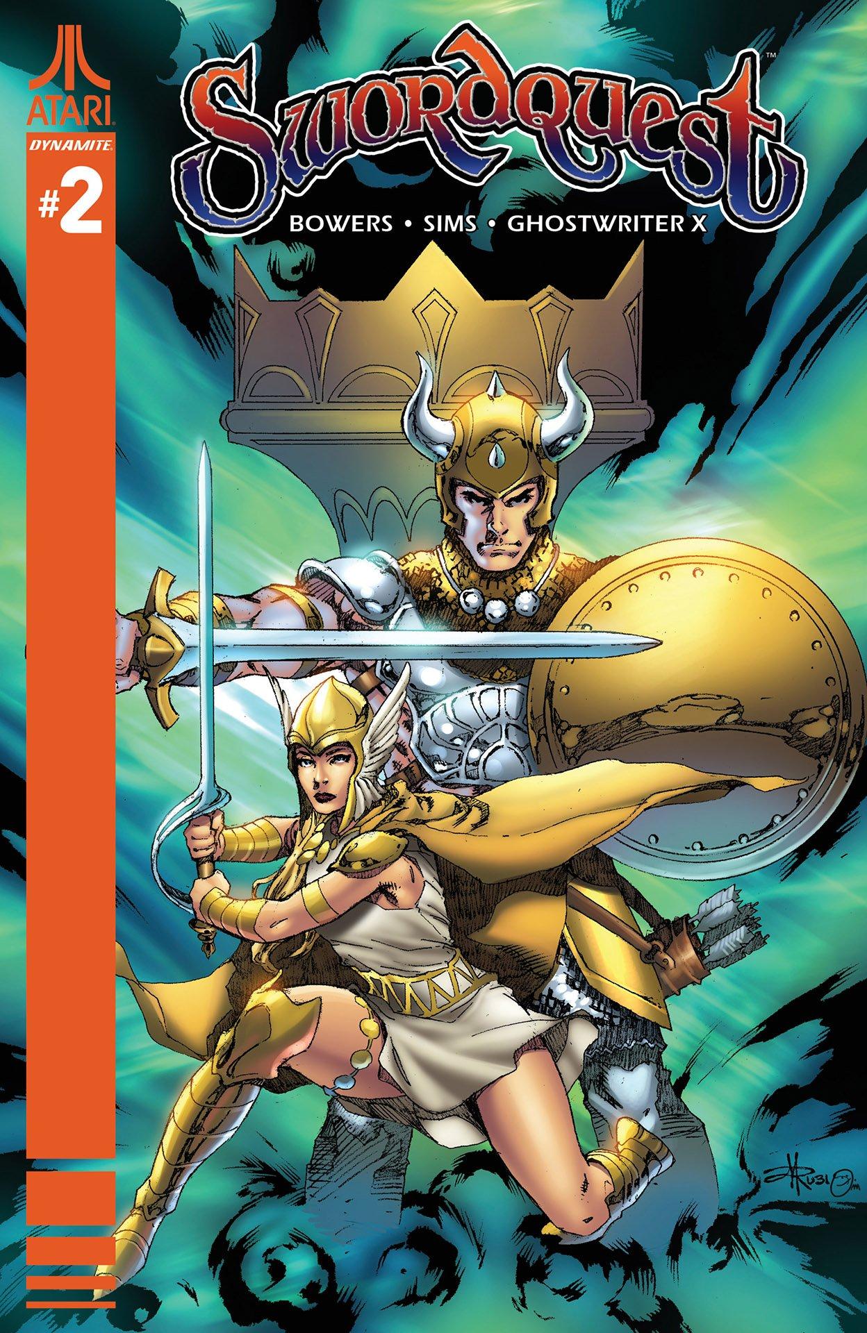 SwordQuest 02 (August 2017) (cover c)