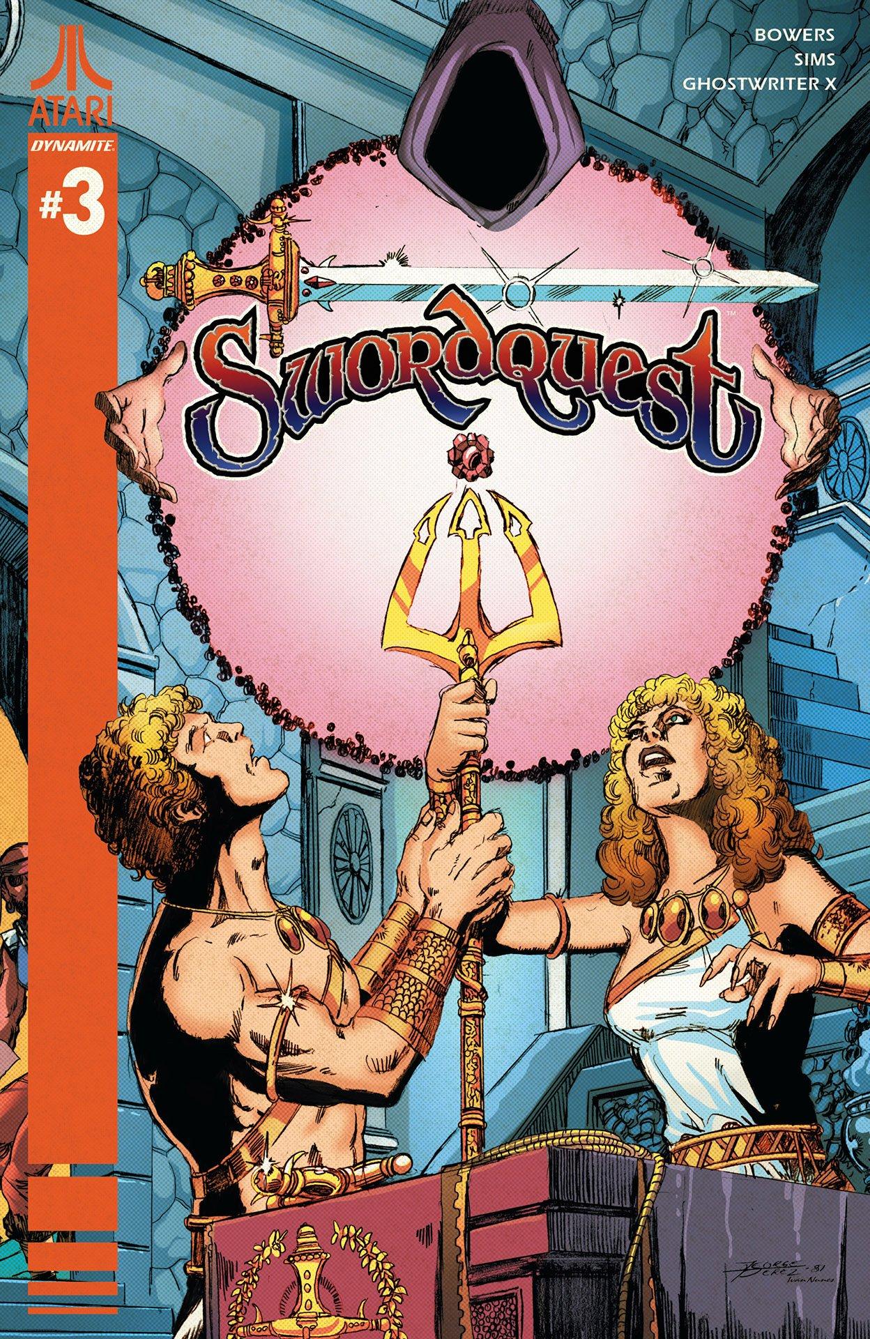 SwordQuest 03 (September 2017) (cover b)