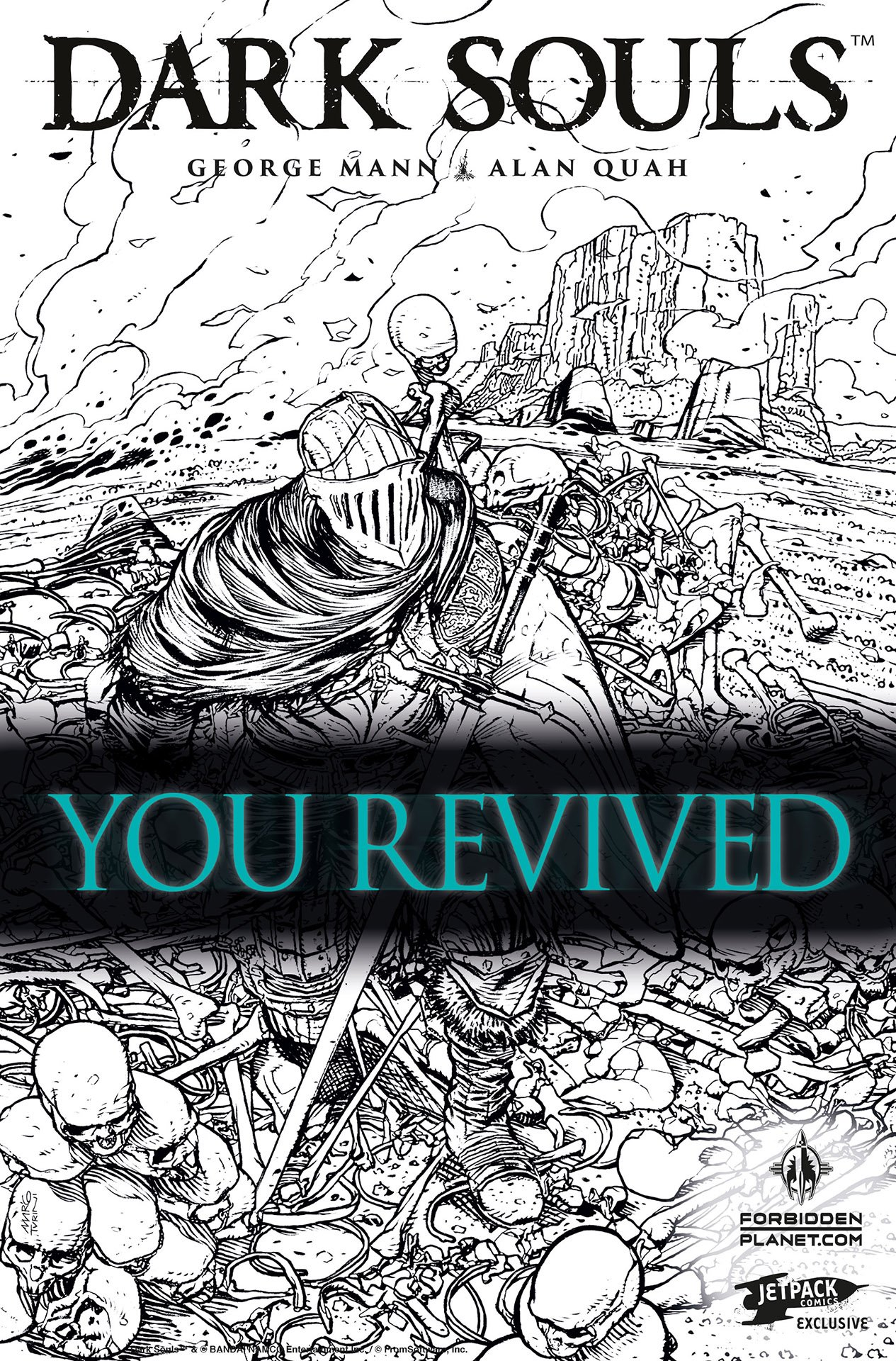 Dark Souls: The Breath of Andolus 001 (May 2016) (Forbidden Planet/Jetpack 2nd printing)