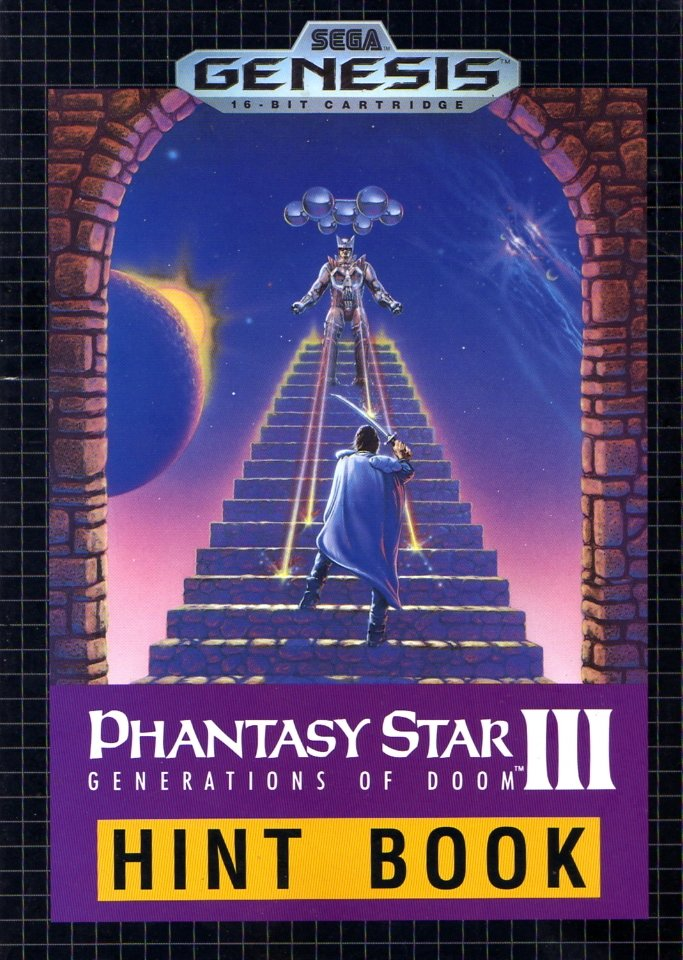 Phantasy Star III: Generations of Doom Hint Book