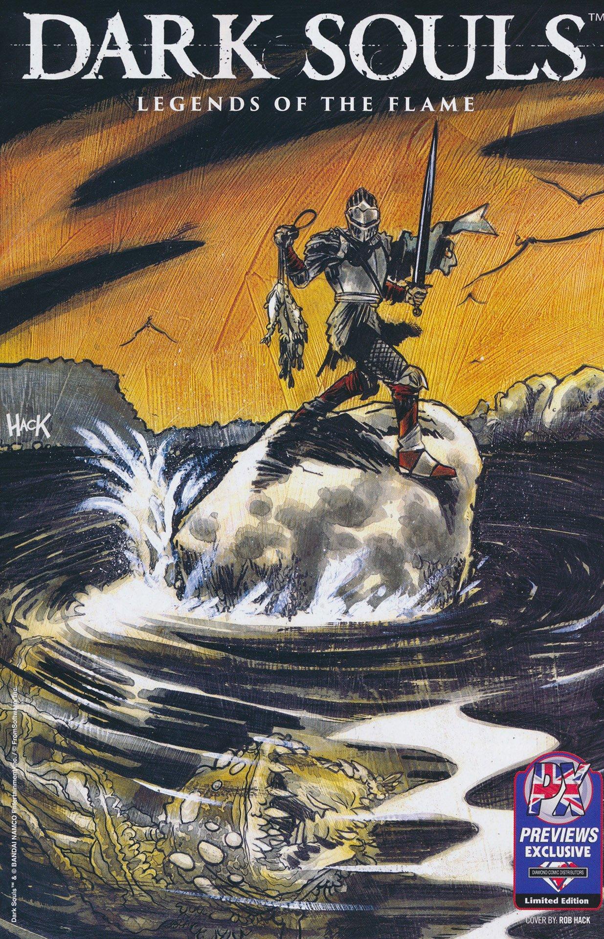 Dark Souls: Legends of the Flame 001 (September 2016) (Diamond UK variant)