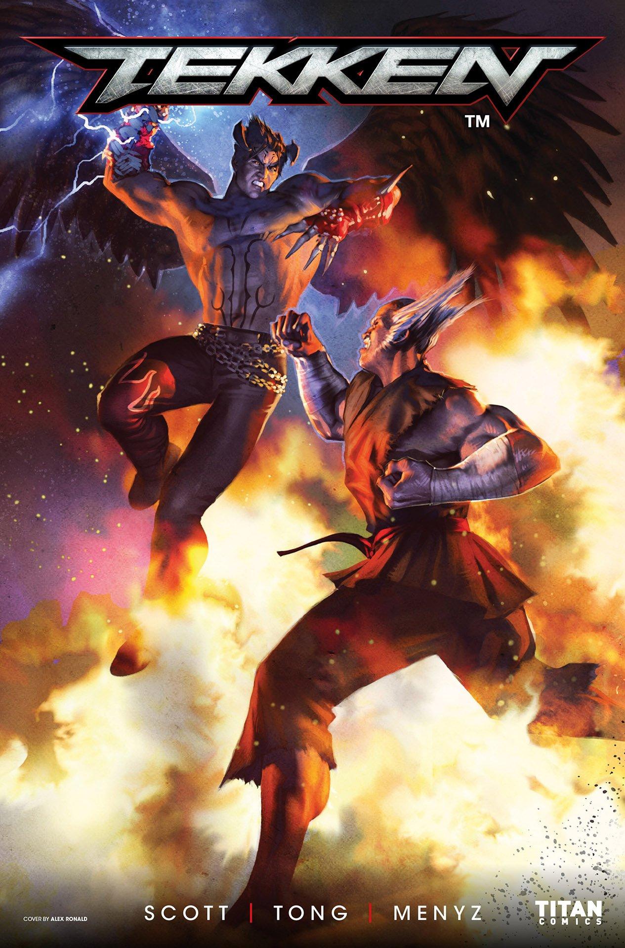 Tekken: Blood Feud 001 (June 2017) (cover a)