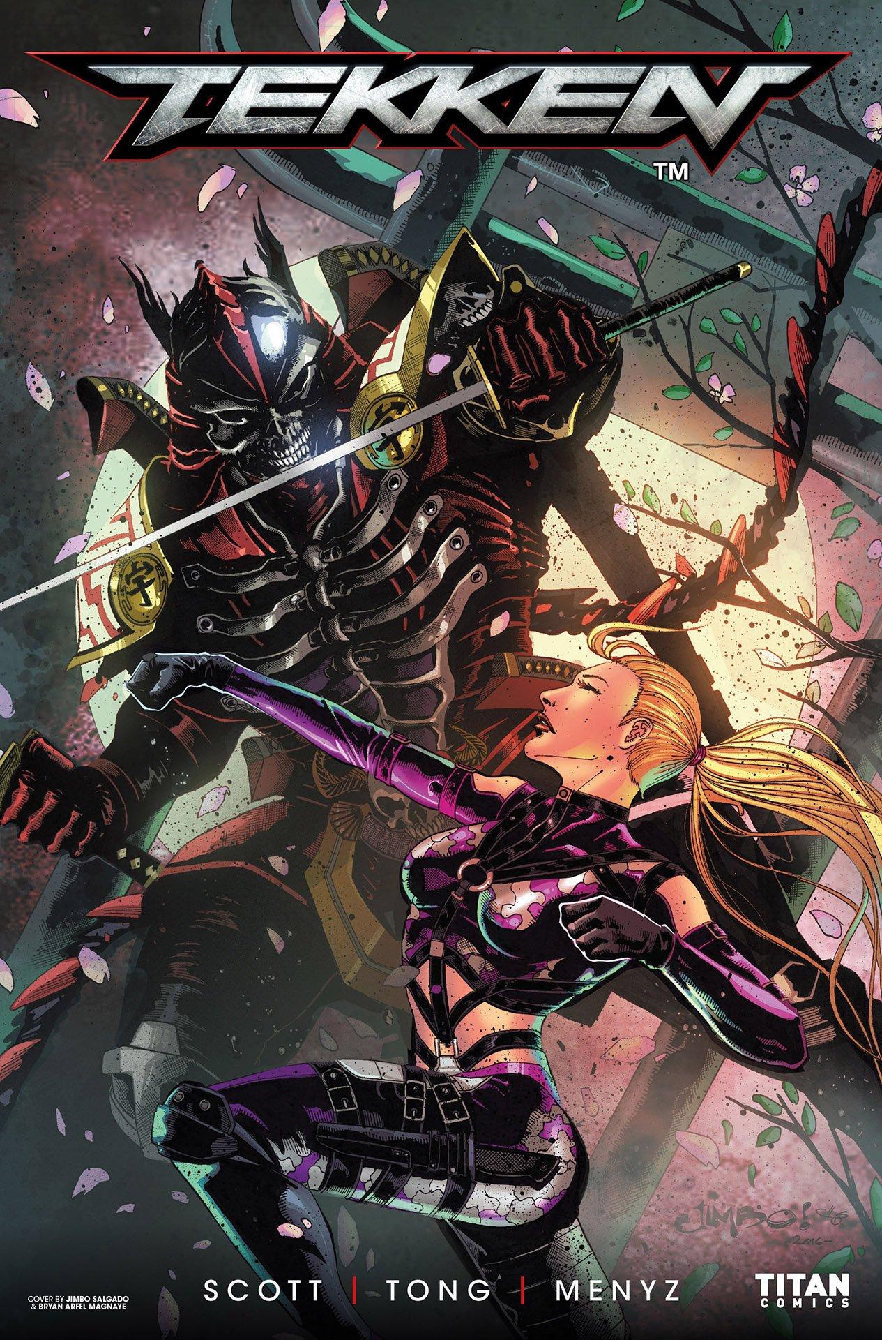 Tekken: Blood Feud 001 (June 2017) (cover e)