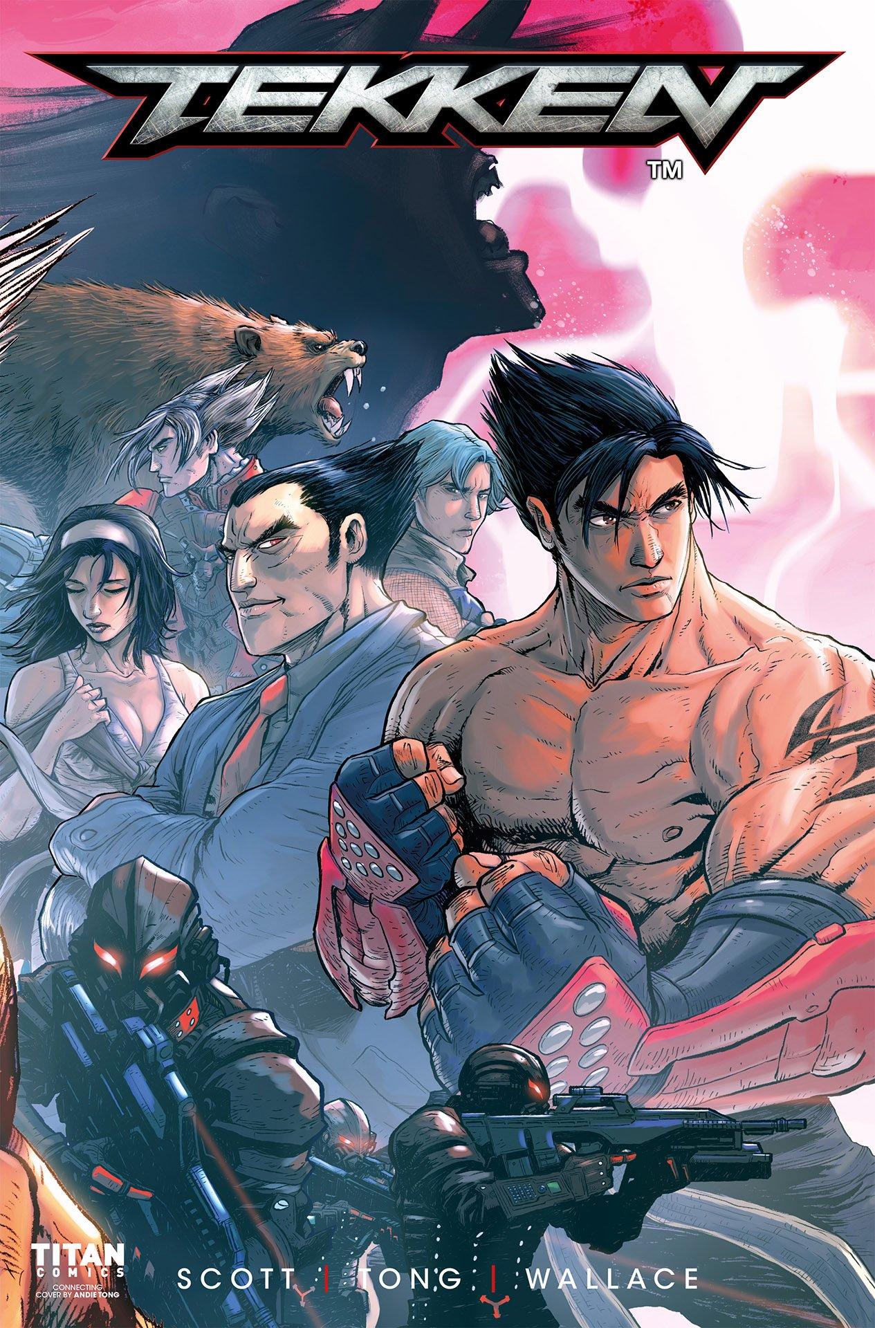 Tekken: Blood Feud 002 (July 2017) (cover d)