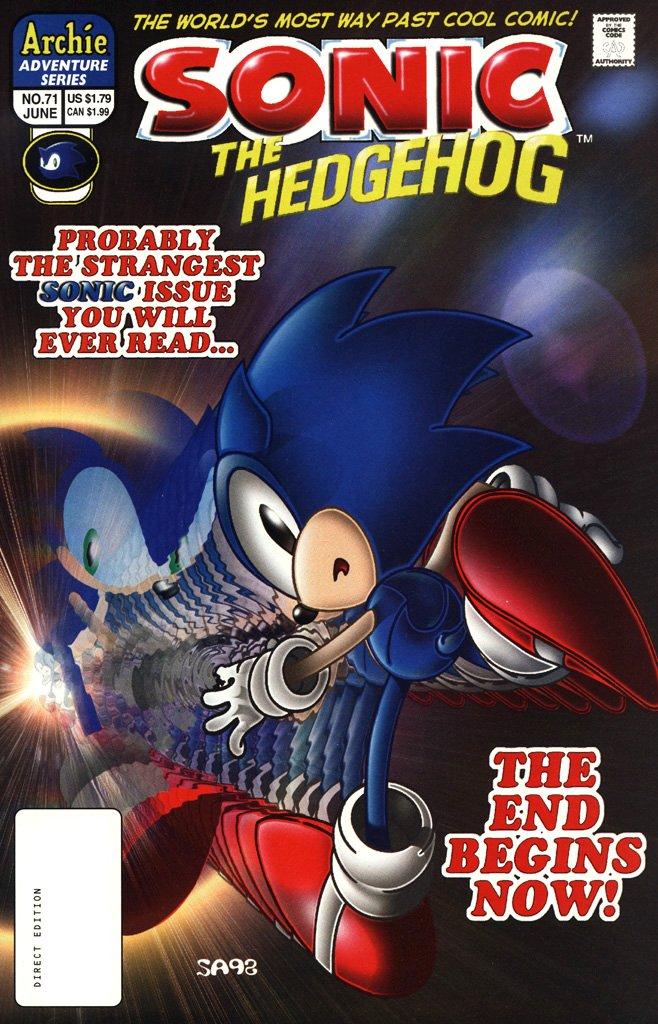 Sonic the Hedgehog 071 (June 1999)
