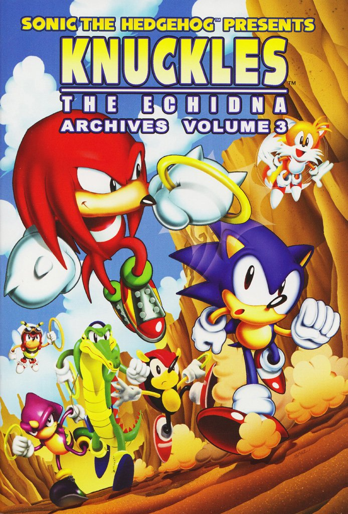 Knuckles the Echidna Archives Volume 3