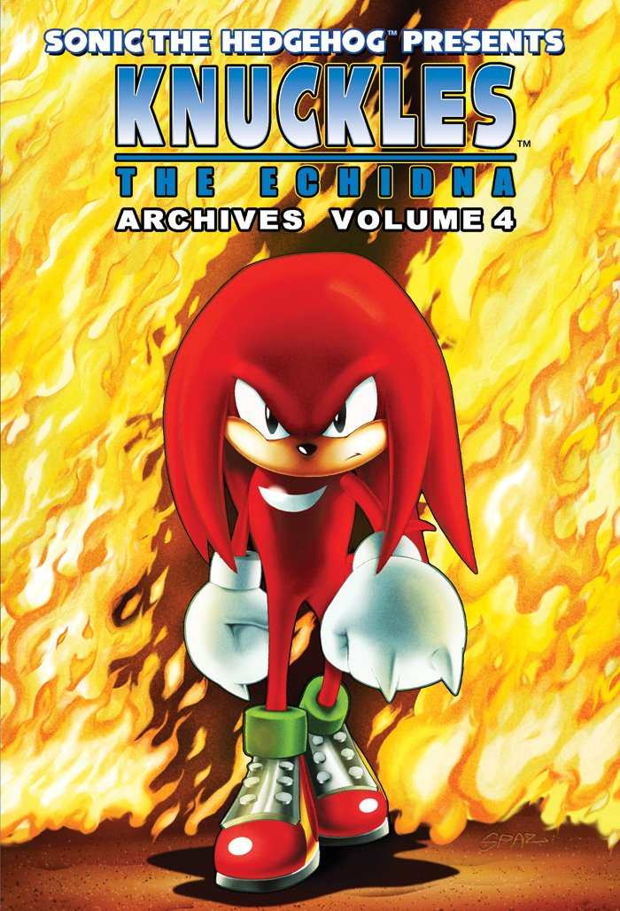 Knuckles the Echidna Archives Volume 4
