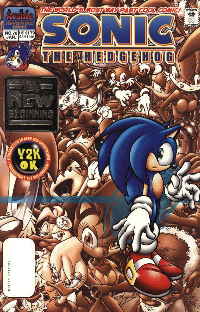 Sonic the Hedgehog 078 (January 2000)