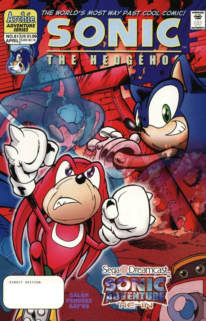 Sonic the Hedgehog 081 (April 2000)