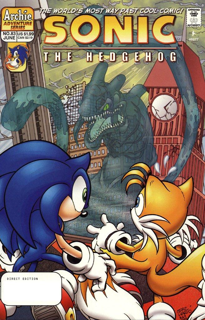 Sonic the Hedgehog 083 (June 2000)