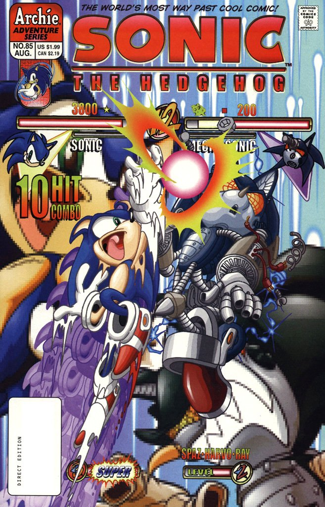 Sonic the Hedgehog 085 (August 2000)