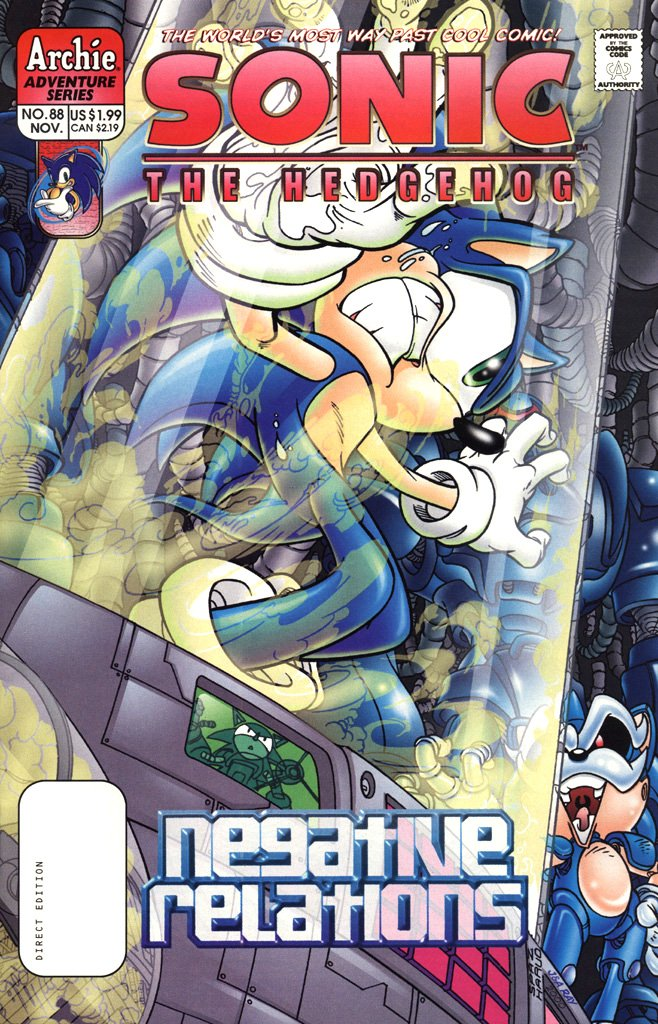 Sonic the Hedgehog 088 (November 2000)