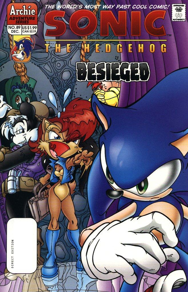 Sonic the Hedgehog 089 (December 2000)