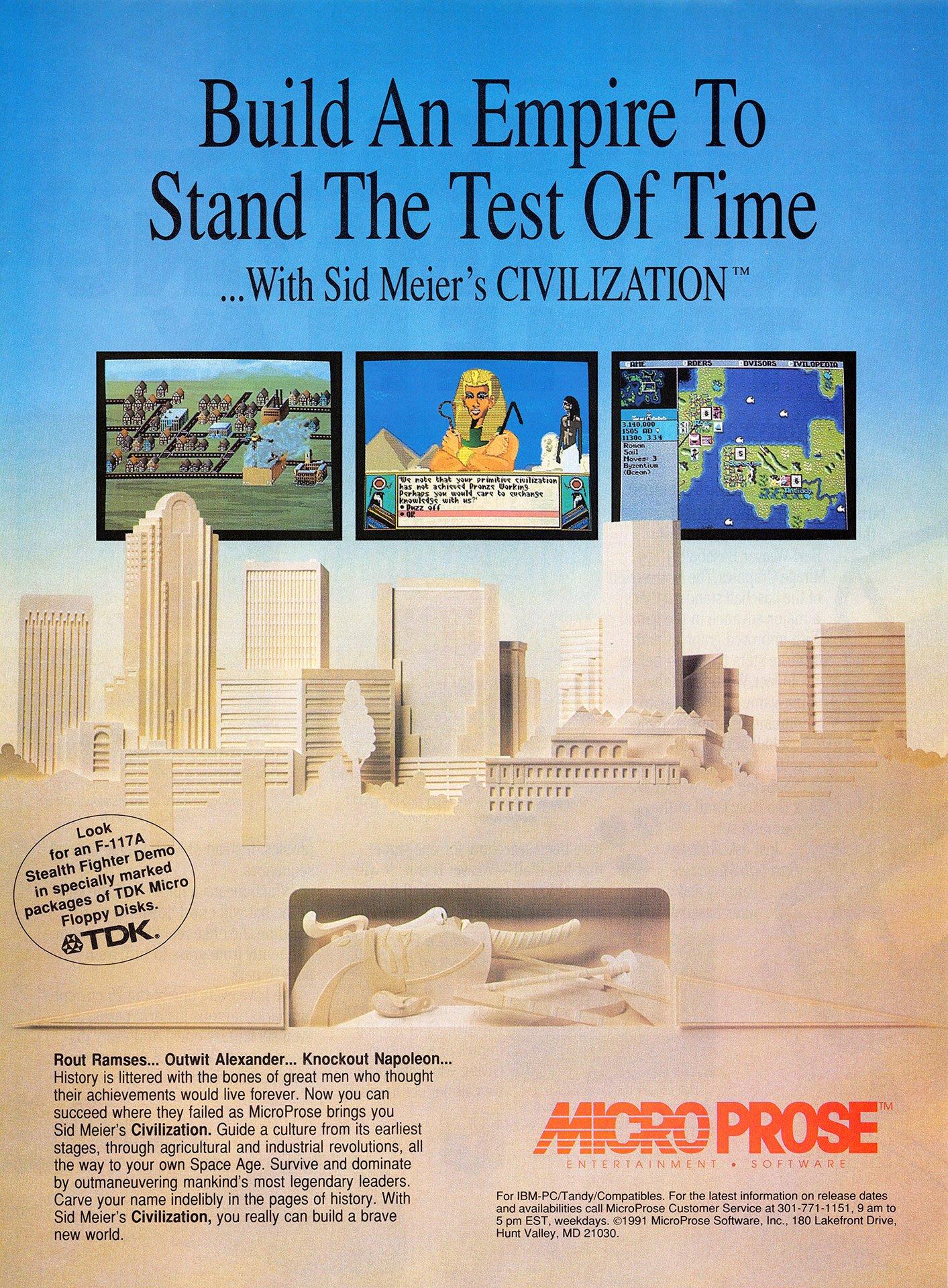 Sid Meier's Civilization (2)
