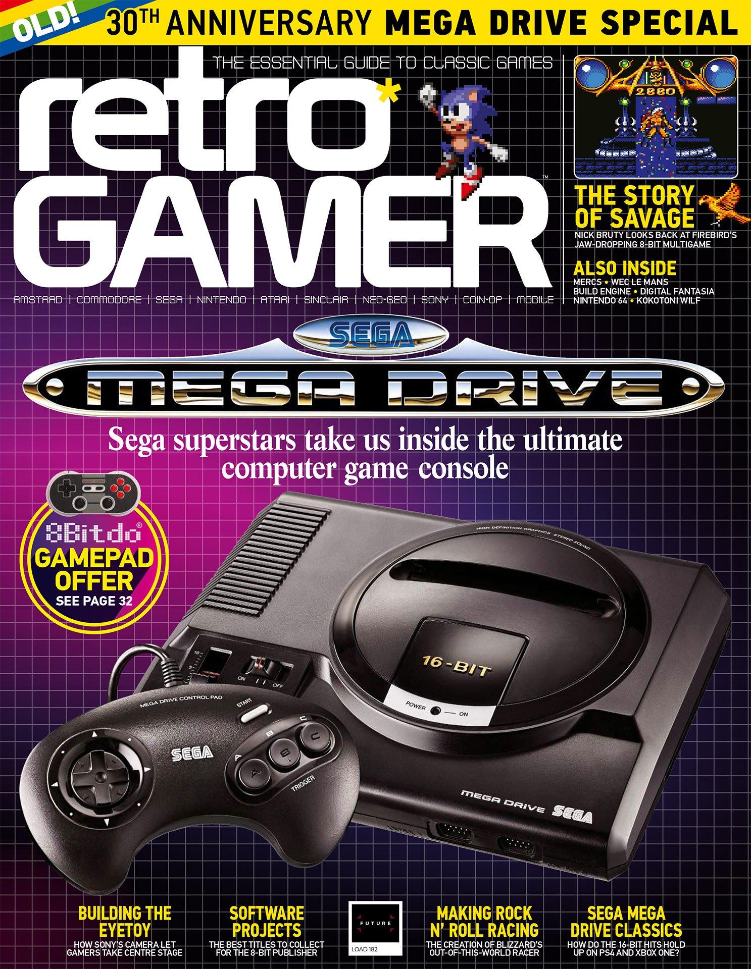 Retro Gamer Issue 182 (July 2018)