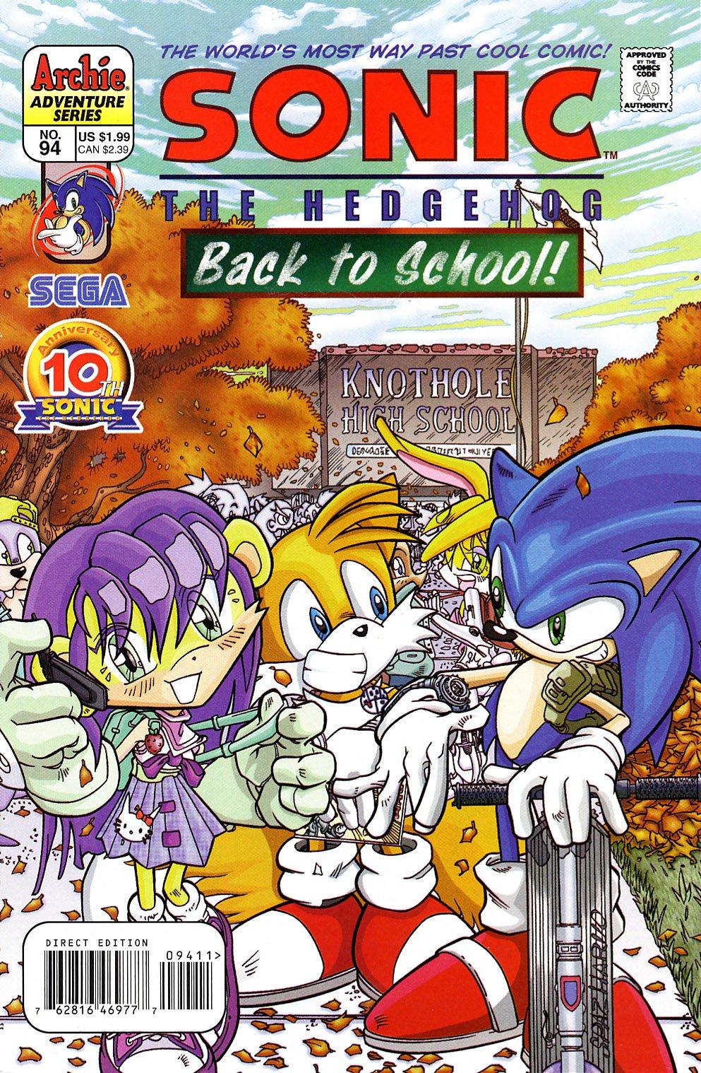Sonic the Hedgehog 094 (April 2001)