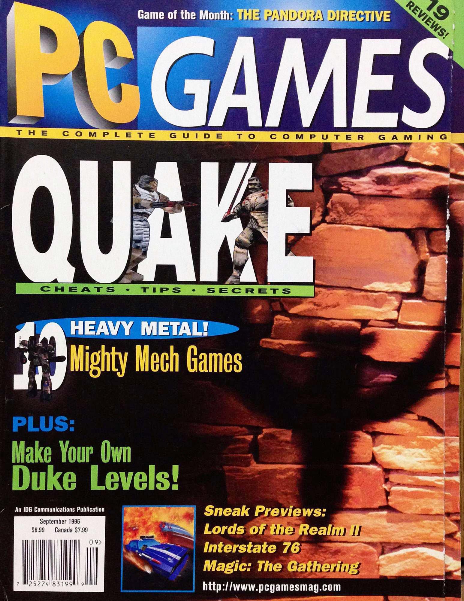 PC Games Vol. 03 No. 09 (September 1996)