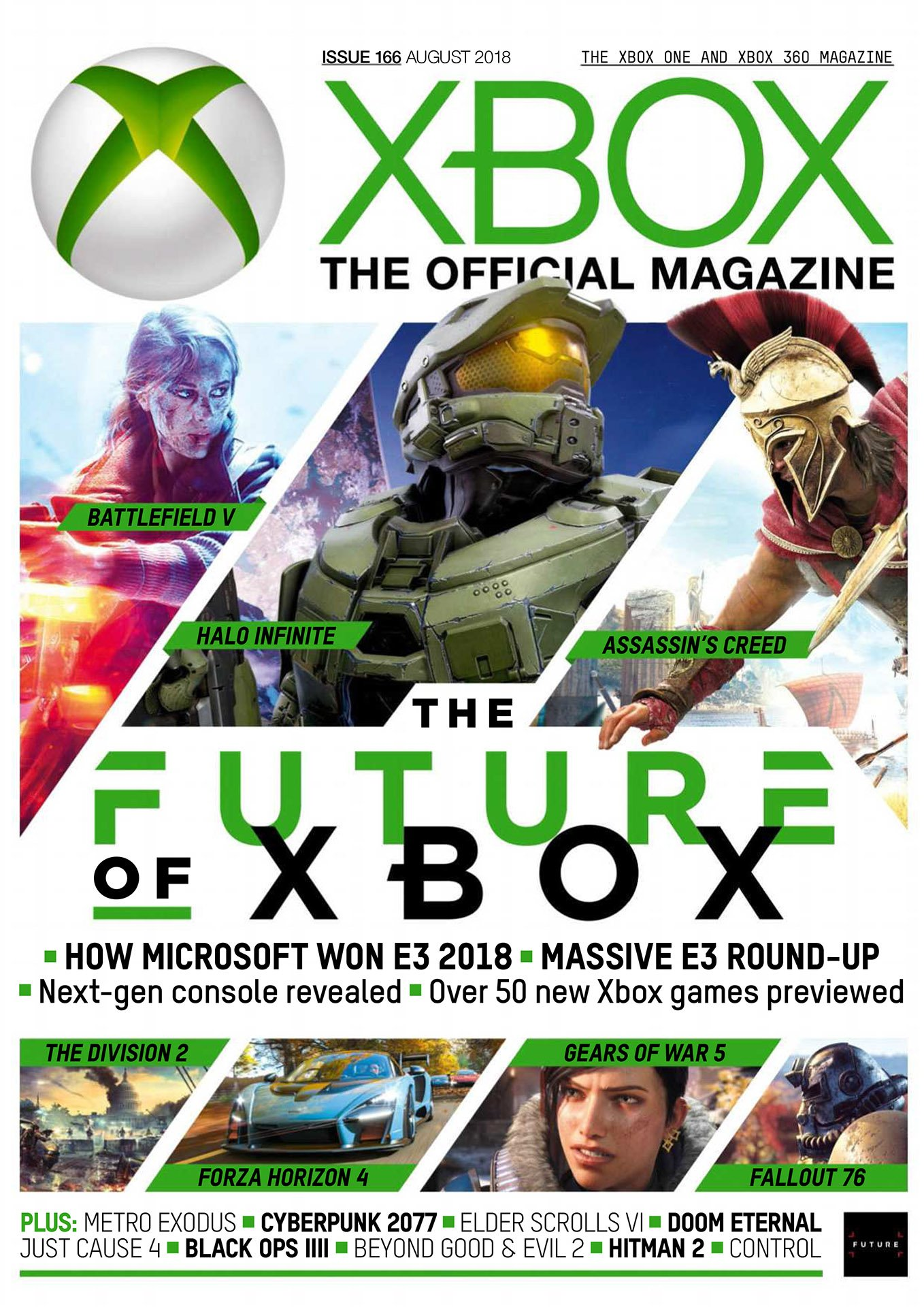 XBOX The Official Magazine Issue 166 (August 2018)