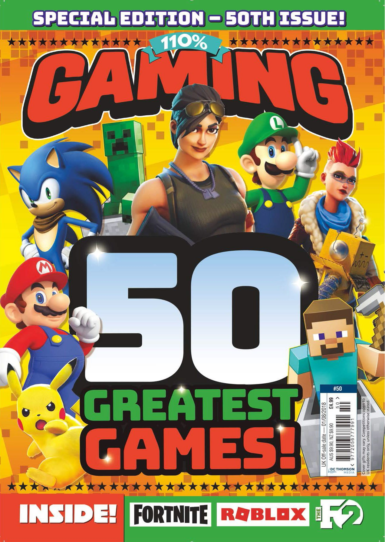 110% Gaming Issue 050 (July 2018)