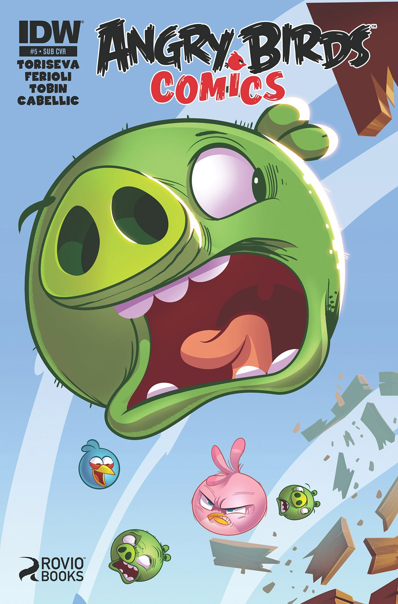 Angry Birds Comics 05 (October 2014) (subscriber cover)a