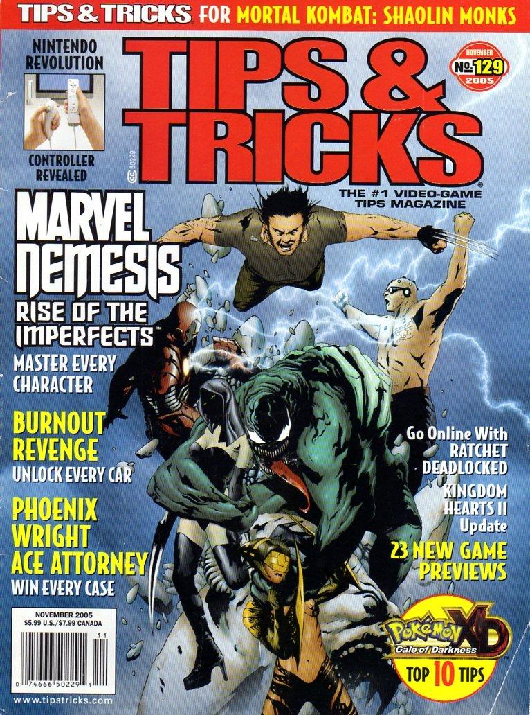 Tips & Tricks Issue 129 (November 2005)