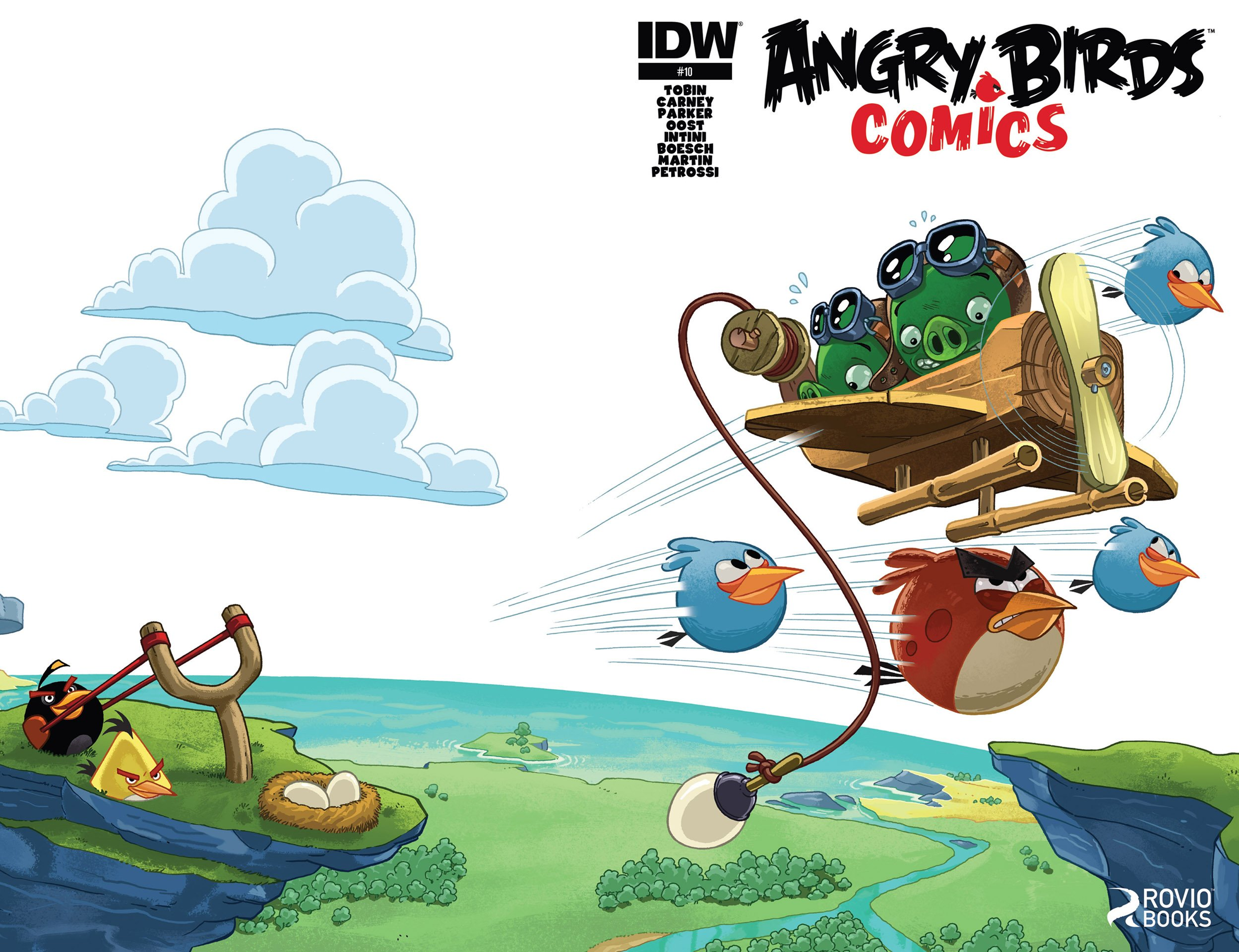 Angry Birds Comics 010 (April 2015)