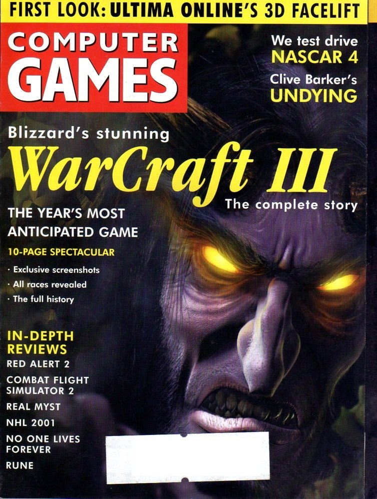 Computer Games Issue 122 (January 2001)