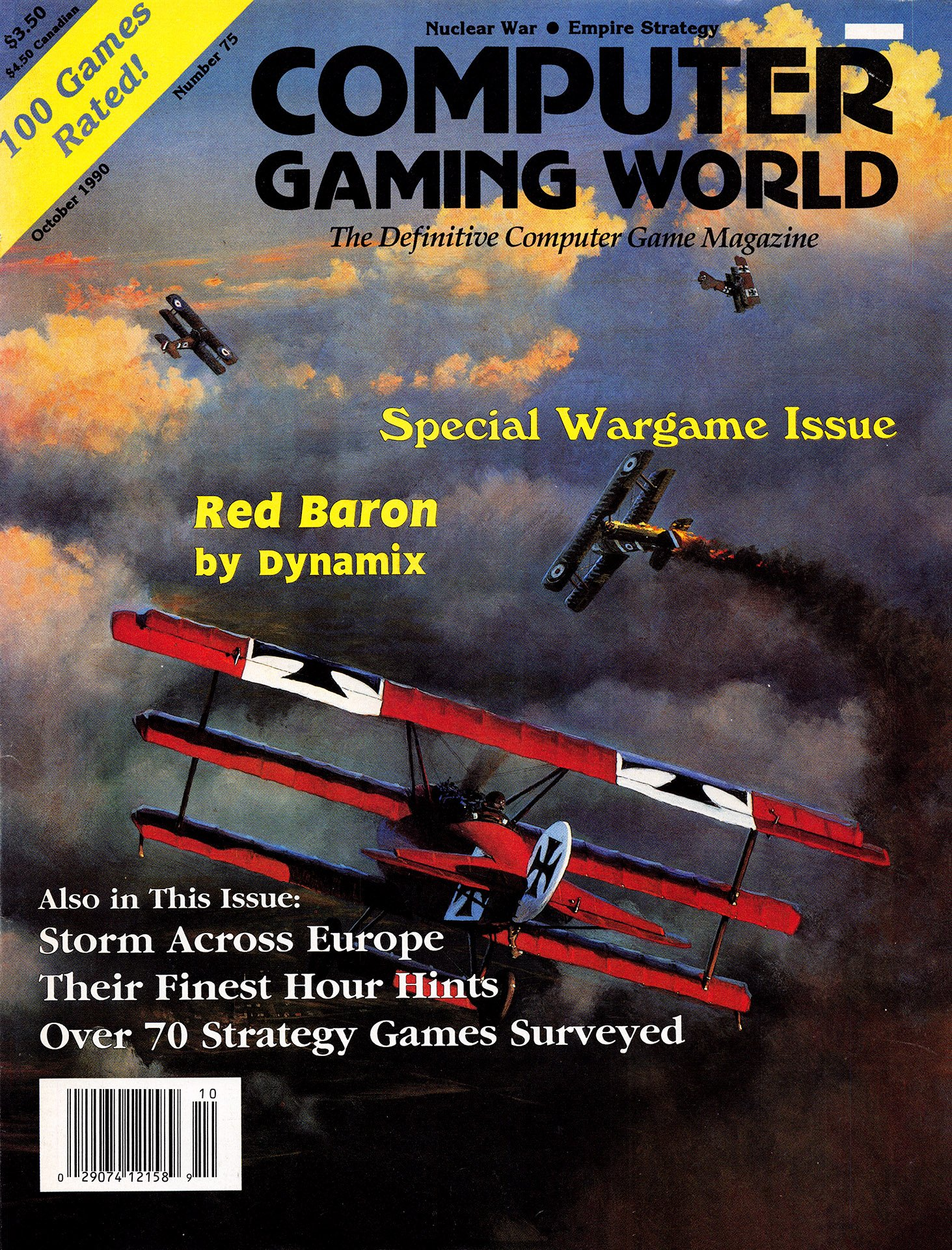 Computer Gaming World Issue 075 (October 1990)
