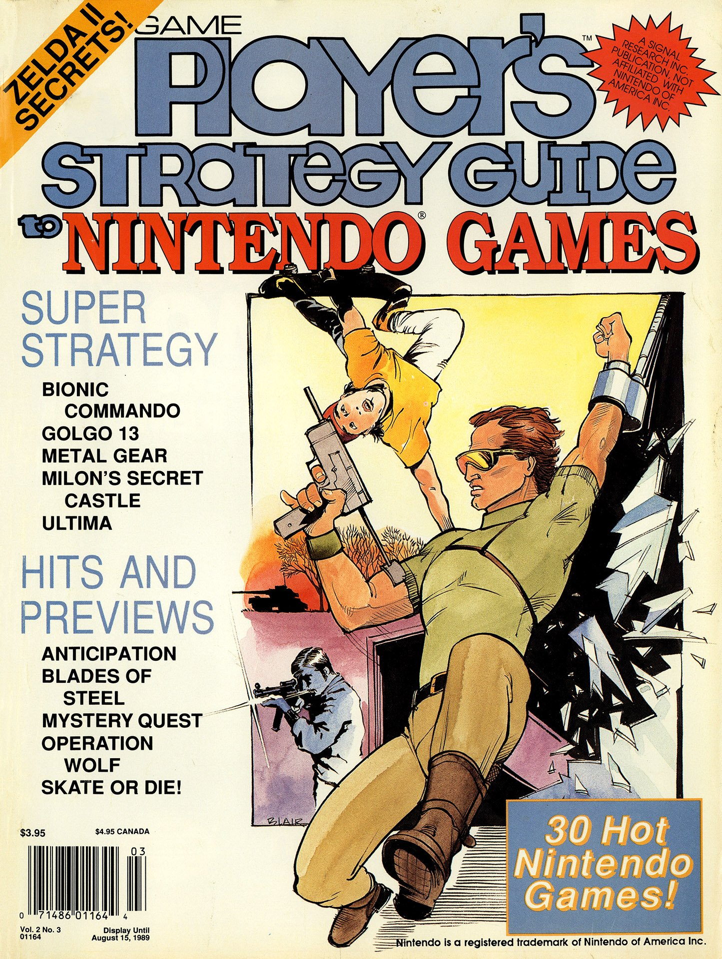 Game Player's Strategy Guide to Nintendo Games Vol.2 No.3 (June/July 1989)