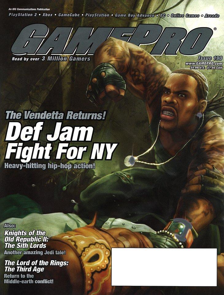 GamePro Issue 190 July 2004