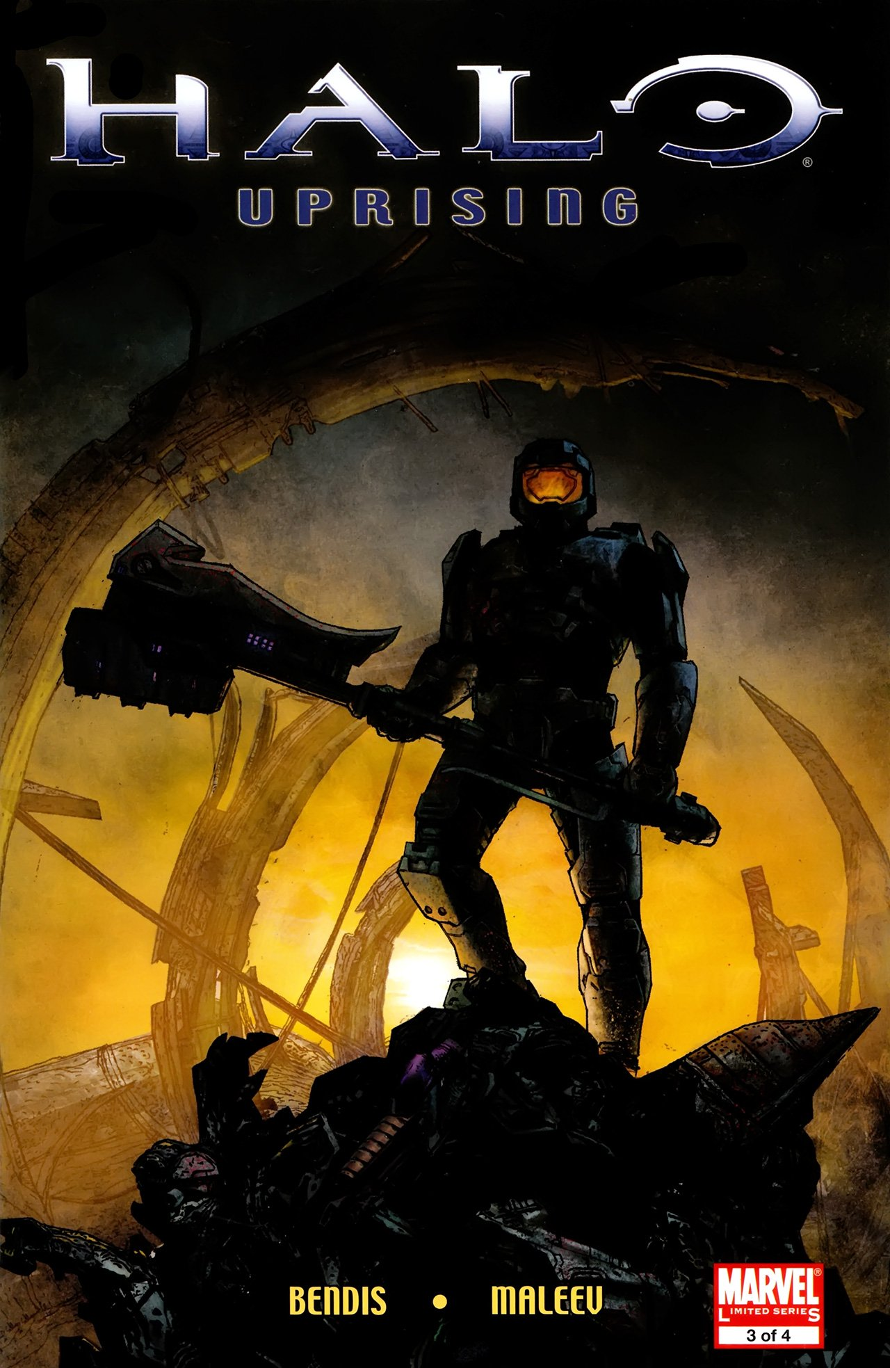 Halo - Uprising 03 (September 2008)