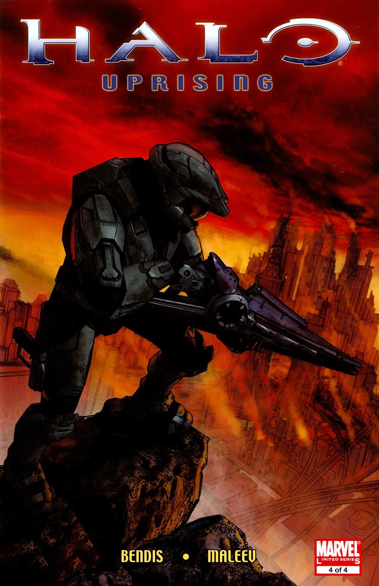 Halo - Uprising 04 (June 2009)