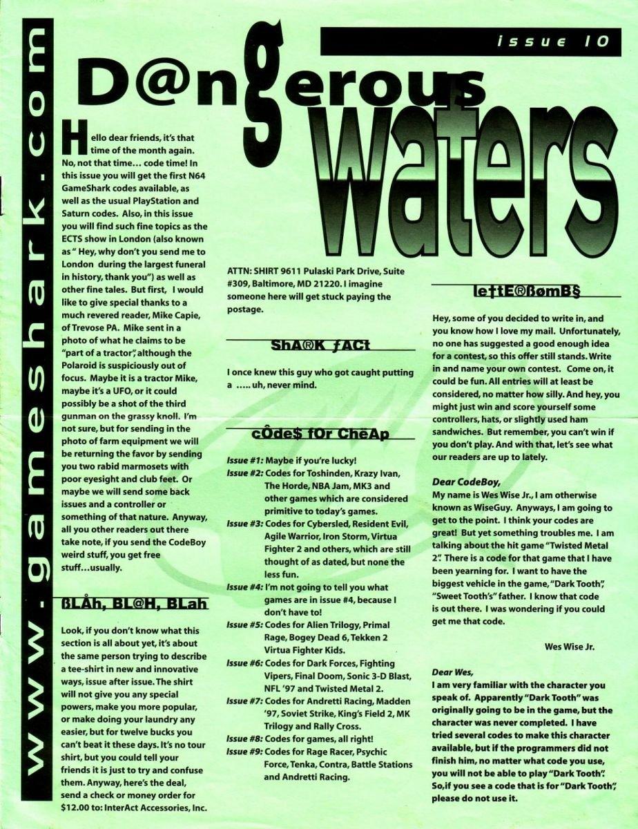 Dangerous Waters 10