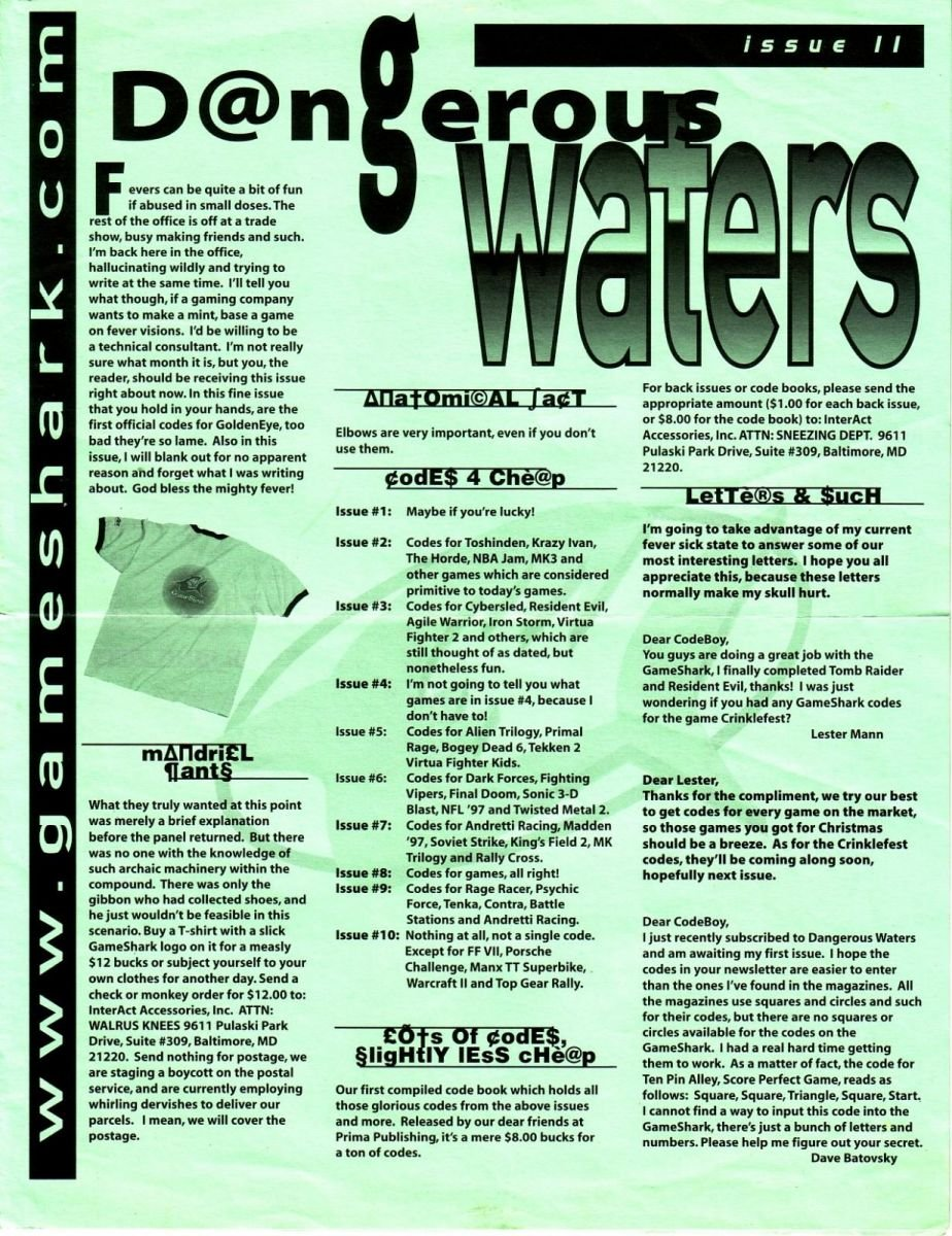 Dangerous Waters 11