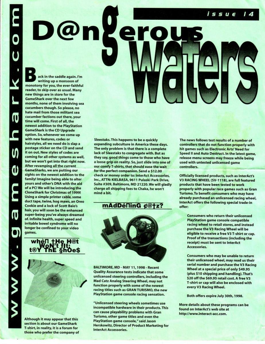 Dangerous Waters 14