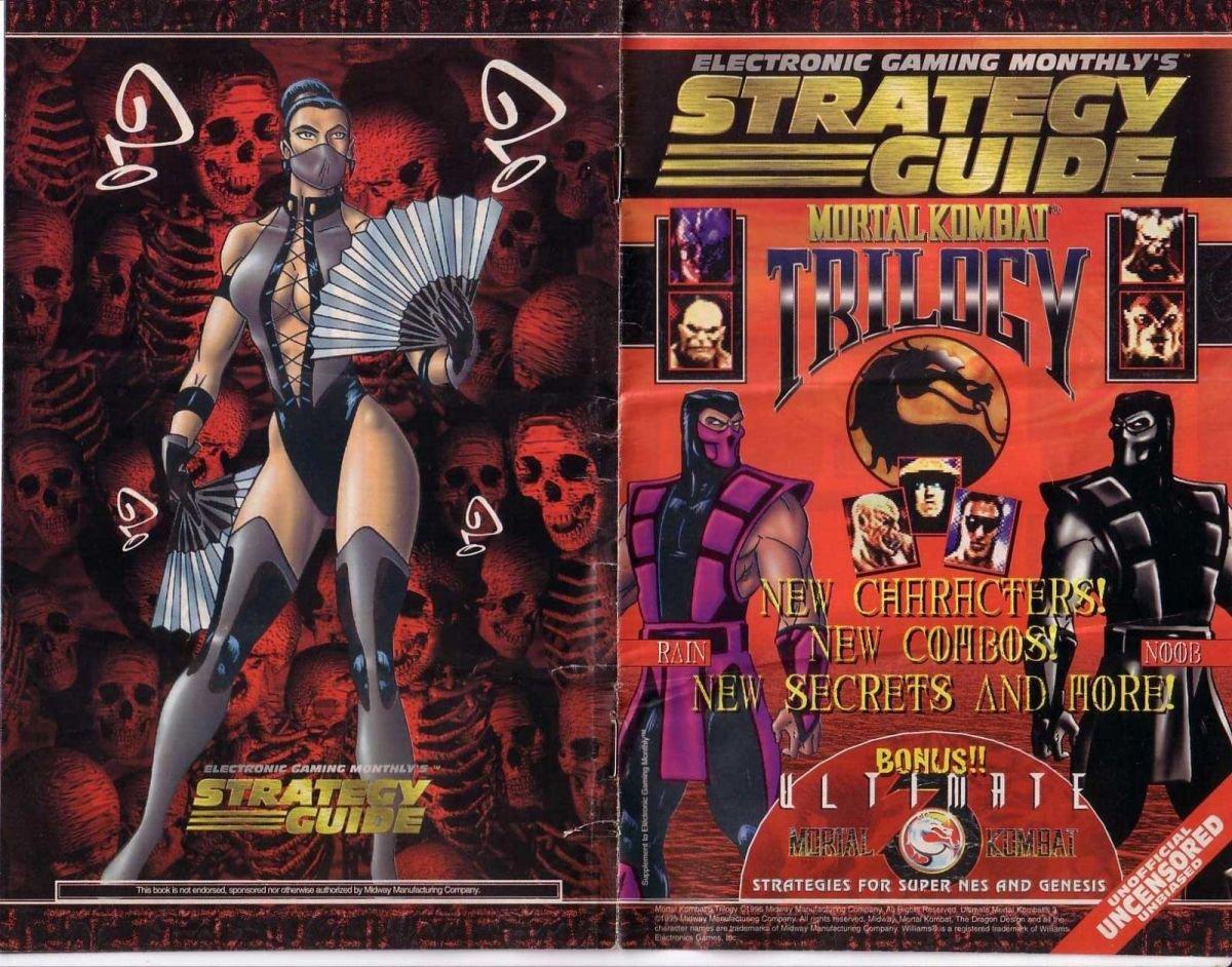 Mortal Kombat Trilogy Guide - Members Albums - Retromags