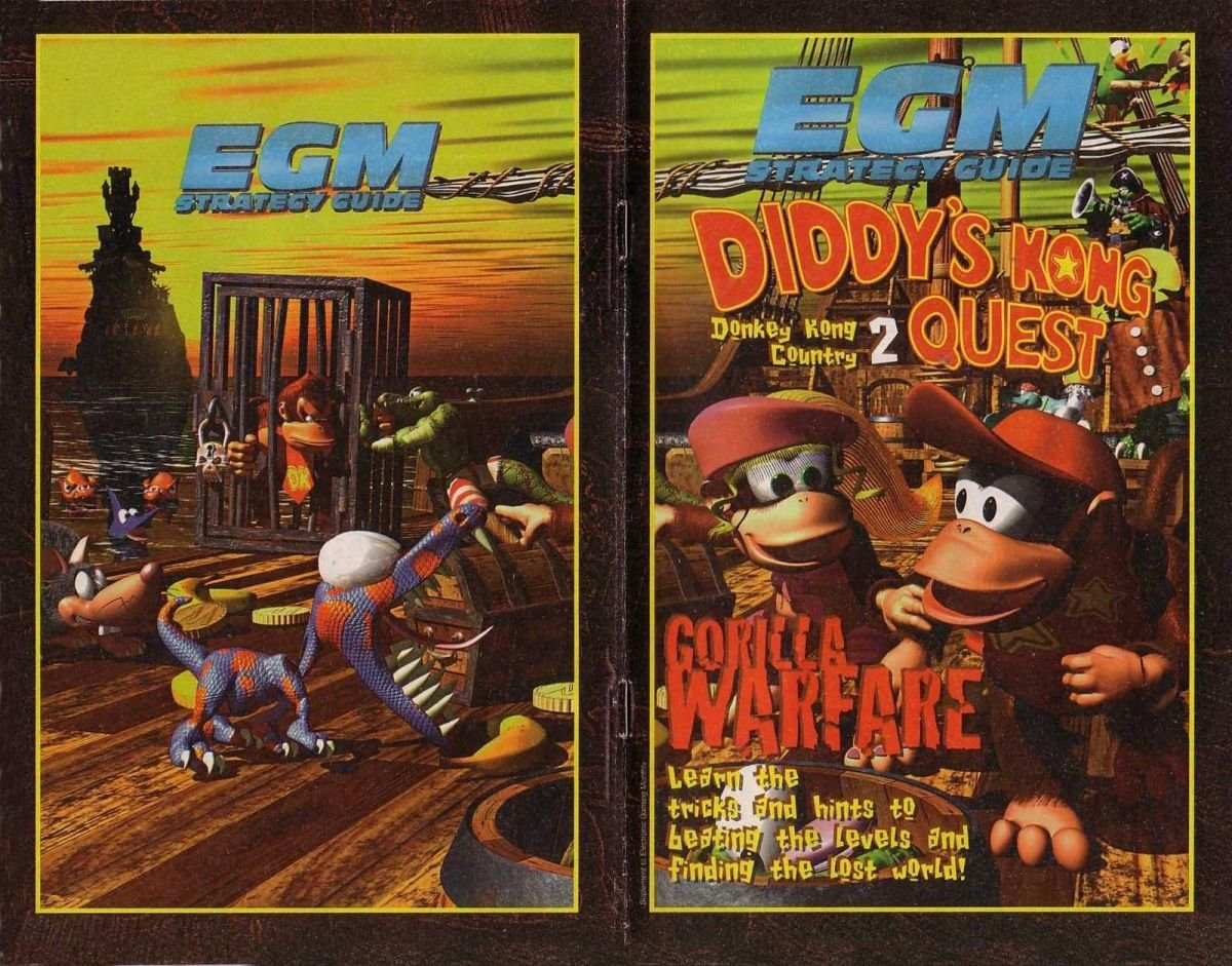 Donkey Kong Country 2: Diddy's Quest