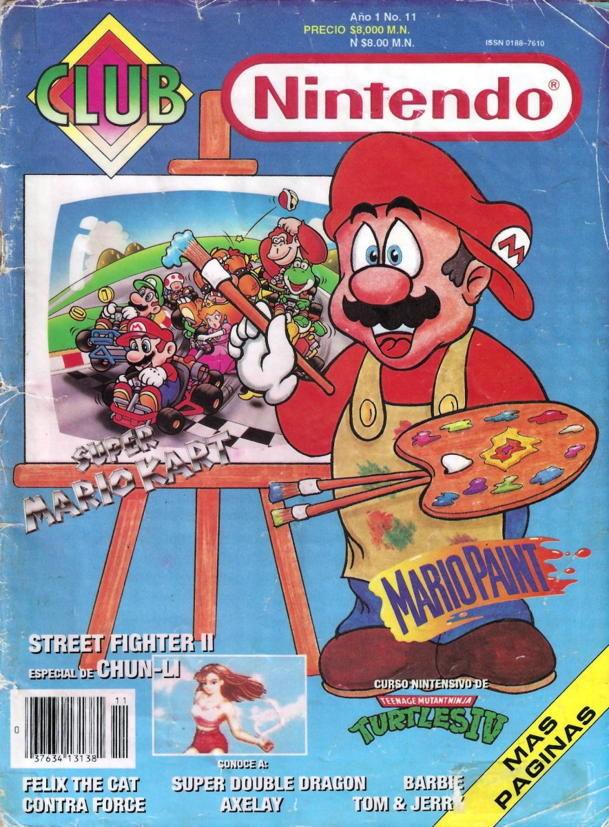 Club Nintendo (Mexico) Volume 1 Issue 11 October 1992
