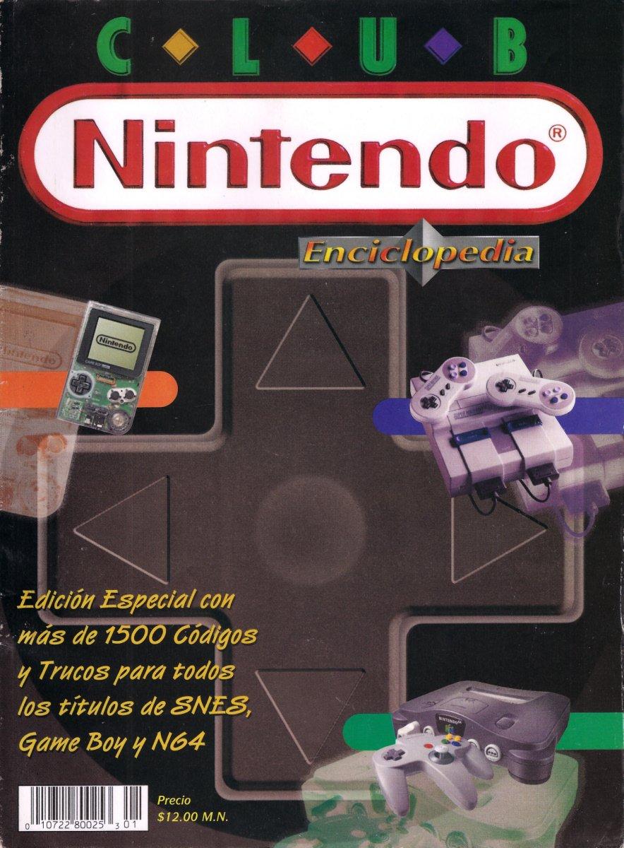 Club Nintendo (Mexico) 1998 Special Issue