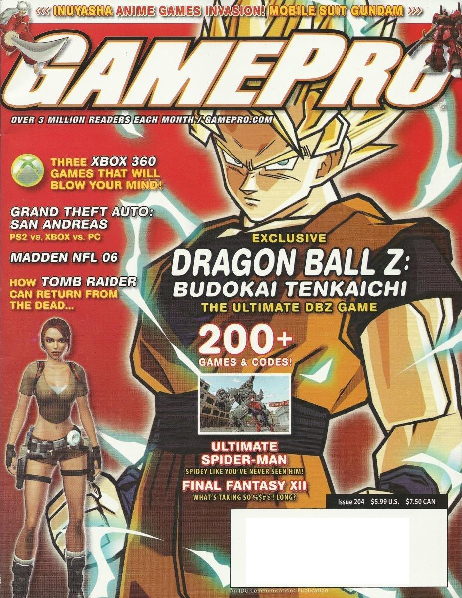 Gamepro Issue 204 September 2005