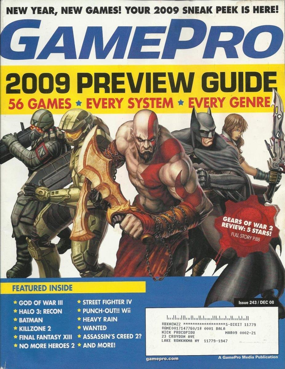 Gamepro Issue 243 December 2008
