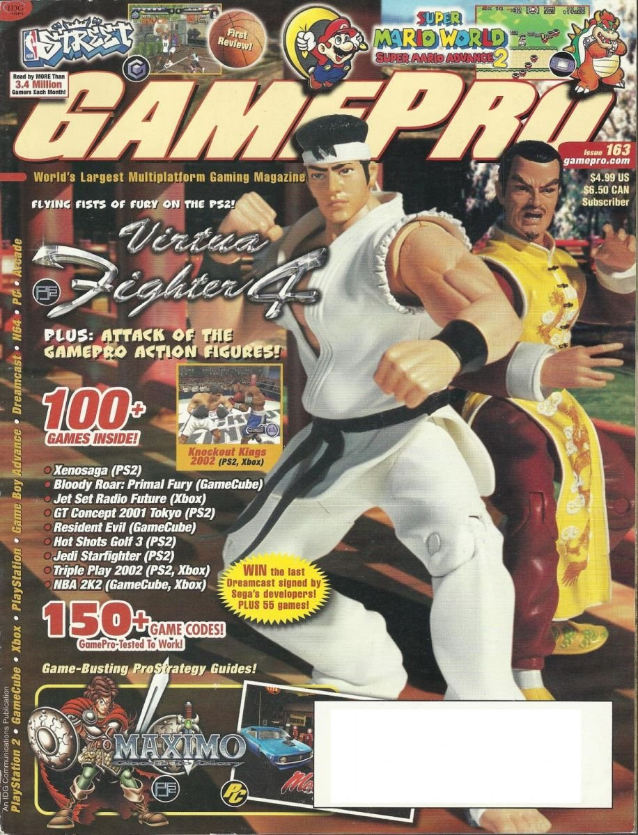 Gamepro Issue 163 April 2002