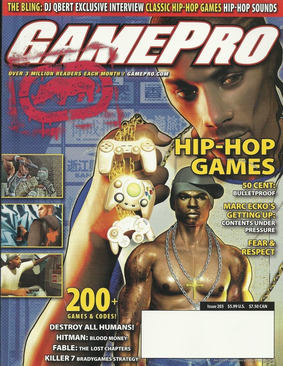 Gamepro Issue 203 August 2005