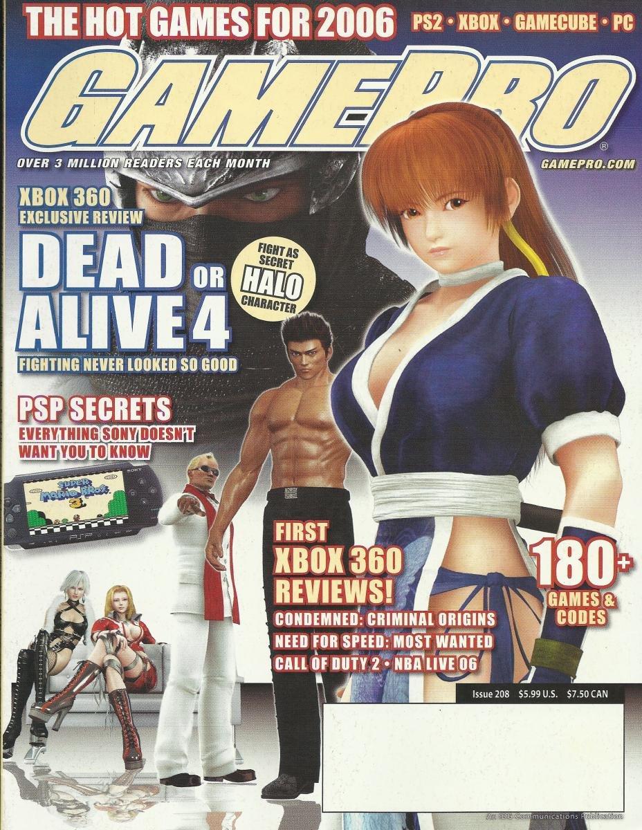 Gamepro Issue 208 January 2006